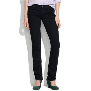 Madewell Rail Straight black jeans size 29x34